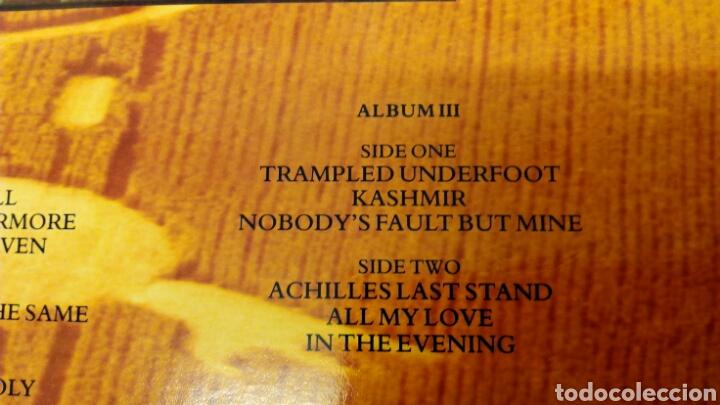 Discos de vinilo: Led Zeppelin Remasters 1990 triple LP - Foto 12 - 124410622