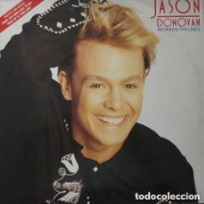 Discos de vinilo: JASON DONOVAN ( BETWEEN THE LINES ) LP SPAIN 1990. Lote 124410791