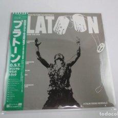 Discos de vinilo: LP VINILO JAPONÉS BSO DE PLATOON. Lote 124414263