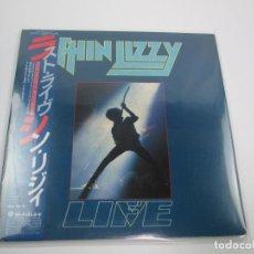 Discos de vinilo: DOBLE LP VINILO JAPONÉS DE THIN LIZZY - LIVE. Lote 124417471