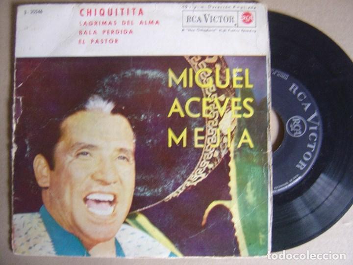 MIGUEL ACEVES MEJIA - CHIQUITTA - EP 1962 - RCA (Música - Discos de Vinilo - EPs - Grupos y Solistas de latinoamérica)