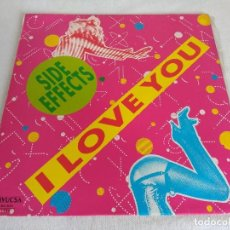 Discos de vinilo: VINILO-MAXI/SIDE EFFECTS/I LOVE YOU.. Lote 124432943