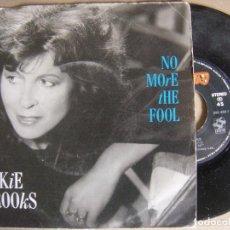 Discos de vinilo: ELKIE BROOKS NO MORE THE FOOL + CITY LIGHTS - SINGLE 1986 - MERCURY. Lote 124435611