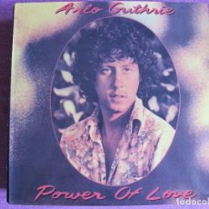 Discos de vinilo: LP - ARLO GUTHRIE - POWER OF LOVE (COUNTRY, FOLK) (PORTUGAL, WB RECORDS 1981). Lote 124437719