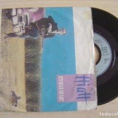 Discos de vinilo: JOHN HIATT - ICY BLUE HEART + MEMPHIS IN THE MEANTIME (LIVE VERSION) - SINGLE ALEMAN 1989 - AM. Lote 124438939