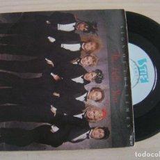 Discos de vinilo: THE BELLE STARS - SIGN OF THE TIMES + MADNESS - SINGLE UK 1982 - STIFF. Lote 124440115