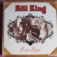 Discos de vinilo: LP - BILL KING ?– DIXIE PEACH (FOLK ROCK, COUNTRY) (USA, SIREN RECORDS 1974). Lote 124442727
