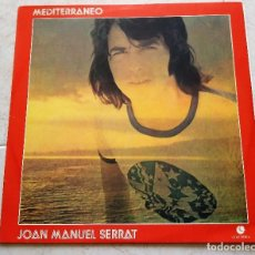 Discos de vinilo: JOAN MANUEL SERRAT ; MEDITERRANEO - BRASIL. Lote 124448907