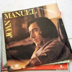 Discos de vinilo: JOAN MANUEL SERRAT : MI NIÑEZ - ARGENTINA. Lote 124449079