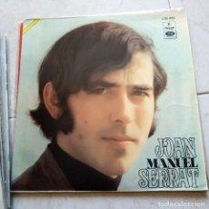 Discos de vinilo: JOAN MANUEL SERRAT - LA PALOMA, ARGENTINA. Lote 124449283