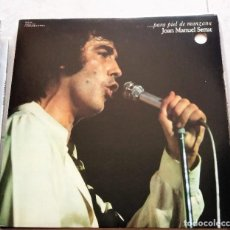Discos de vinilo: JOAN MANUEL SERRAT : PARA PIEL DE MANZANA, U.S.A.. Lote 124453691
