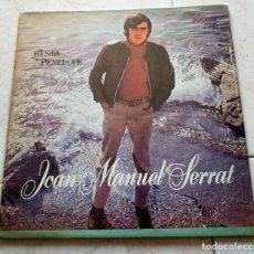 Discos de vinilo: JOAN MANUEL SERRAT : FIESTA-PENELOPE, U.S.A.. Lote 124454063