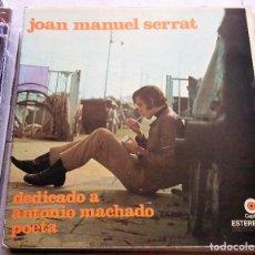 Discos de vinilo: JOAN MANUEL SERRAT : MACHADO, MEXICO.. Lote 124454263