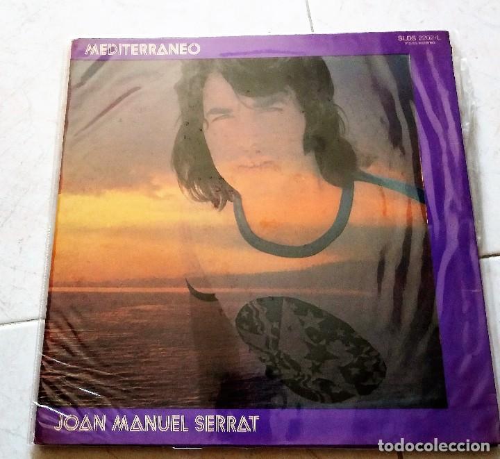 JOAN MANUEL SERRAT : MEDITERRANEO, ARGENTINA. (Música - Discos - LP Vinilo - Cantautores Españoles)