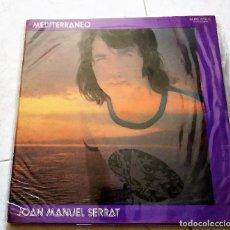 Discos de vinilo: JOAN MANUEL SERRAT : MEDITERRANEO, ARGENTINA.. Lote 124454591