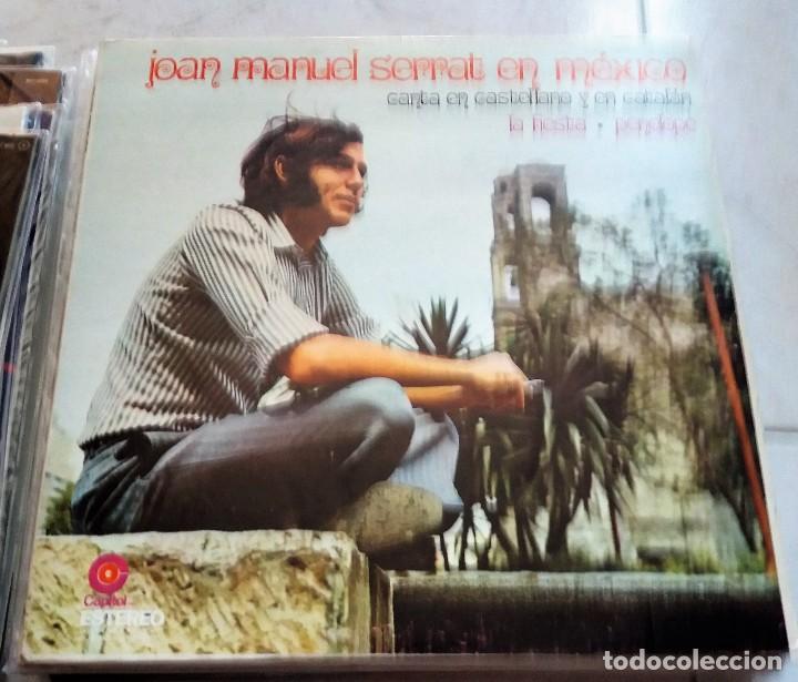 JOAN MANUEL SERRAT : EN MEXICO, MEXICO (Música - Discos - LP Vinilo - Cantautores Españoles)