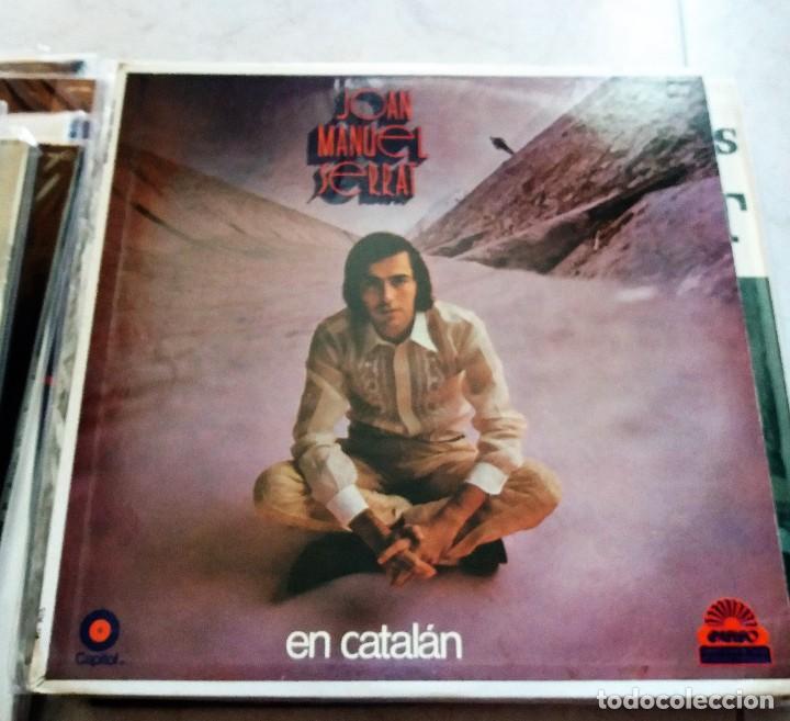 JOAN MANUEL SERRAT : EN CATALAN, MEXICO (Música - Discos - LP Vinilo - Cantautores Españoles)