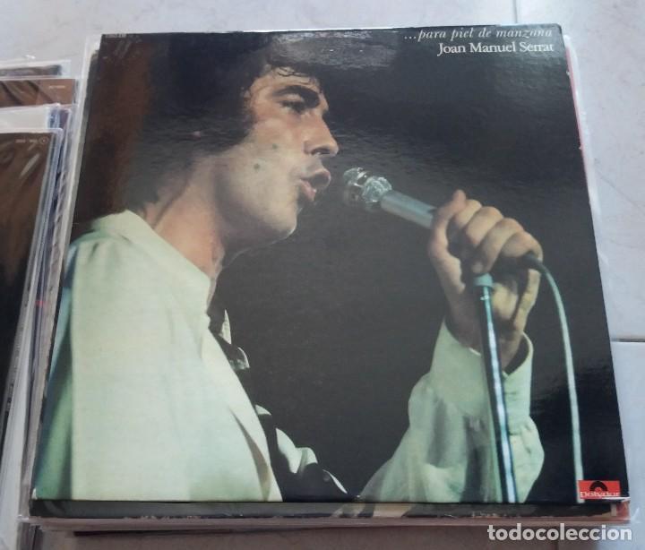 JOAN MANUEL SERRAT : PIEL DE MANZANA,. FRANCIA (Música - Discos - LP Vinilo - Cantautores Españoles)