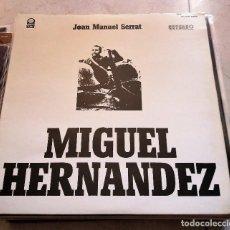 Discos de vinilo: JOAN MANUEL SERRAT - MIGUEL HERNANDEZ, MEXICO. Lote 124455659