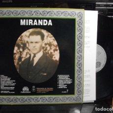 Discos de vinilo: LP 1988 ASTURIAS FOLK : MIRANDA & BOTON VOL 7 CON ENCARTE PRINCIPAU DE ASTURIES COMO NUEVO¡¡. Lote 124455931