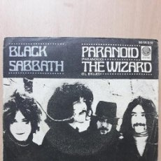 Vinyl records - Black sabbath-paranoid/the wizard- single vértigo 1970 - 124481995