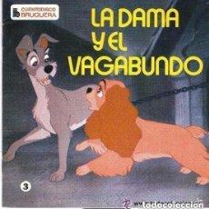 Discos de vinilo: WALT DISNEY - LA DAMA Y EL VAGABUNDO - EP CUENTO-DISCO BRUGUERA 1969. Lote 124499867