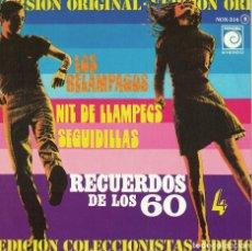 Dischi in vinile: LOS RELAMPAGOS - NIT DE LLAMPECS / SEGUIDILLAS (SINGLE PROMO ESPAÑOL, NOVOLA 1978). Lote 124500131