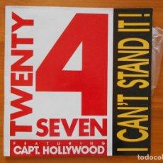 Discos de vinilo: LP TWENTY 4 SEVEN - I CAN'T STAND IT! (CL). Lote 124500263