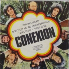 Discos de vinilo: CONEXION - STRONG LOVER - DON'T LET ME BE MISUNDERSTOOD + 2 - EP 1969 ORLADOR 1970, EXC. Lote 124509363