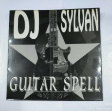 Discos de vinilo: DJ SYLVAN. - GUITAR SPELL. MAXI-SINGLE. MOON RECORDS. TDKDA26. Lote 124510167