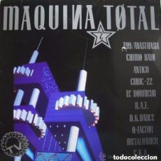 Discos de vinilo: MAQUINA TOTAL 2 - LP MAX MUSIC (SPAIN) 1991 TECHNO. Lote 124518071
