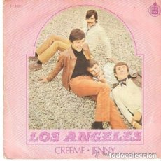 Discos de vinilo: LOS ANGELES - CREEME / JENNY - SINGLE HISPAVOX SPAIN 1968. Lote 124518595