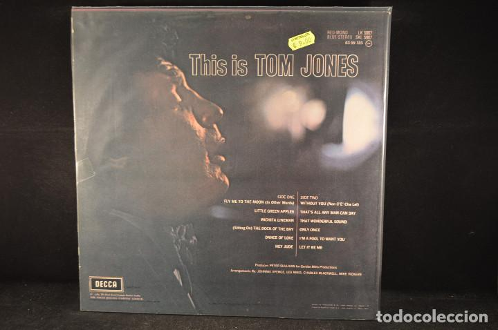 Discos de vinilo: TOM JONES - THIS IS TOM JONES - LP - Foto 2 - 124526099