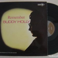 Discos de vinilo: BUDDY HOLLY - REMEMBER - LP UK 1971 - CORAL. Lote 124529175