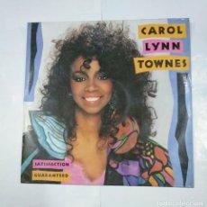 Discos de vinilo: CAROL LYNN TOWNES. SATISFACTION. GUARANTEED. MAXI-SINGLE. TDKDA26. Lote 124541719