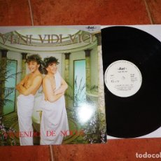 Discos de vinilo: VENI VIDI VICI VIVIENDO DE NOCHE MAXI SINGLE VINILO PROMO DEL AÑO 1986 JAVIER LOSADA 2 TEMAS. Lote 114728051
