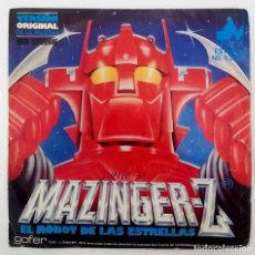 Discos de vinilo: MAZINGER Z - EL ROBOT DE LAS ESTRELLAS-SG-EDICION ESPAÑOLA. Lote 124543483