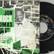 Discos de vinilo: JON ROCK THOMAS EP HEY, HEY, BABY! + 3 FRANCIA. Lote 124544363