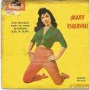 Discos de vinilo: MARY ESQUIVEL - OJOS TRAVIESOS + 3 (EP DE 4 CANCIONES) POLYDOR 1960 - G/VG. Lote 124548115