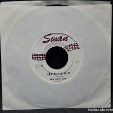 Discos de vinilo: BEATLES - HOW DO YOU DO IT - SINGLE - RARO - SWAN - PAUL MCCARTNEY - JOHN LENNON. Lote 124549027