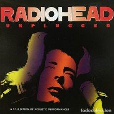 Discos de vinilo: RADIOHEAD LP UNPLUGGED MUY RARO COLECCIONISTA. Lote 124549183