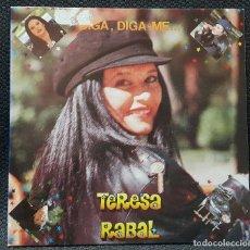 Discos de vinilo: TERESA RABAL- DIGA DIGA ME - SINGLE - PROMOCIONAL - ESPAÑA - INFANTIL- INFANTILES - EDUARDO RODRIGO. Lote 124550015