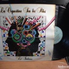 Discos de vinilo: LA ORQUESTINA SON LES POLES - EL INDIANO - LP - TECHNO - CANCION ASTURIANA 1986 ASTURIAS. Lote 124552835