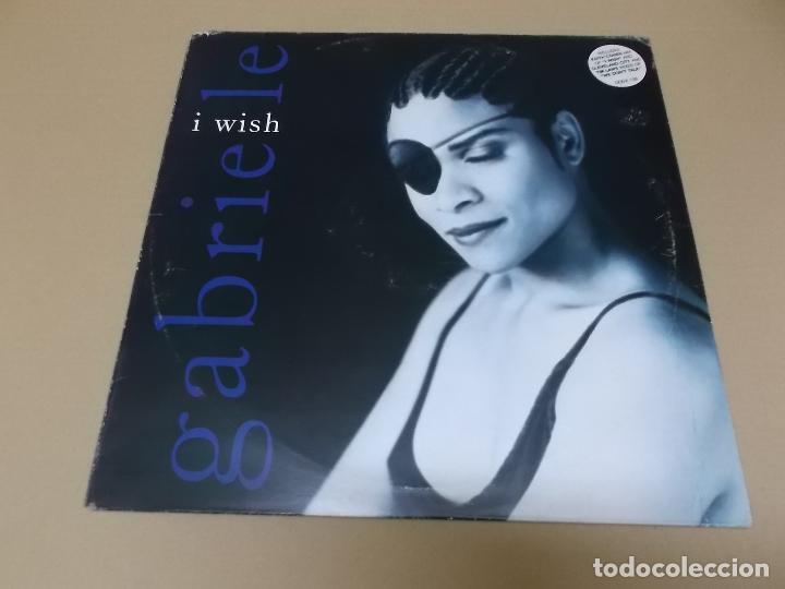 GABRIELLE (MX) I WISH +3 TRACKS AÑO 1992 – EDICION U.K. (Música - Discos de Vinilo - Maxi Singles - Pop - Rock Extranjero de los 90 a la actualidad)