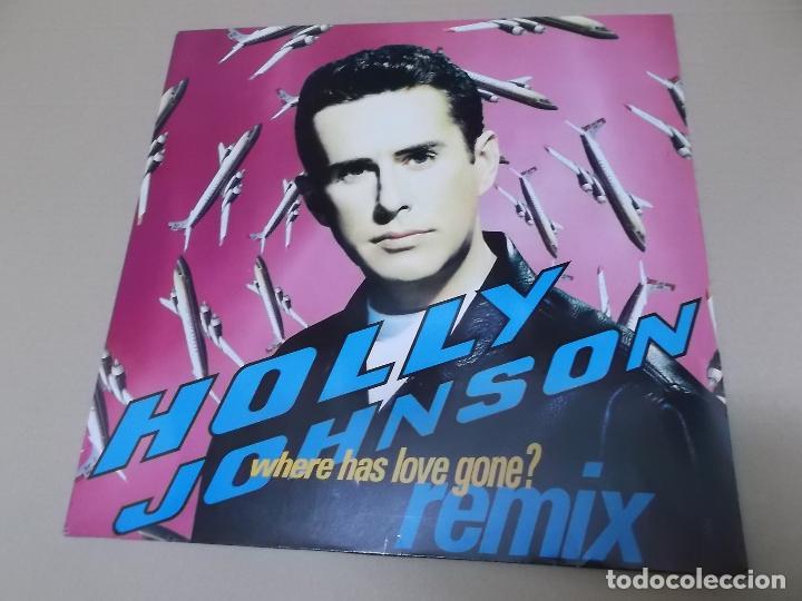 HOLLY JOHNSON (MX) WHERE HAS LOVE GONE +1 TRACK AÑO 1990 (Música - Discos de Vinilo - Maxi Singles - Pop - Rock Extranjero de los 90 a la actualidad)