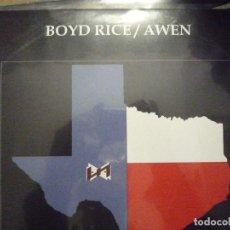 Discos de vinilo: BOYD RICE/ AWEN-ABYSSUS ABYSSUM INVOCAT-2LP. Lote 124556727
