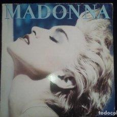 Discos de vinilo: MADONNA: TRUE BLUE, LP SIRE LY 925442-2. SPAIN, 1986. Lote 124566407