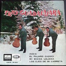 Discos de vinilo: TRIO GUADALAJARA - EP ODEON, 1965.. Lote 124567559
