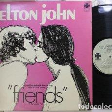 Discos de vinilo: ELTON JOHN / FRIENDS 1971 / SOLIDA 1ª EDIC ORIG USA, 1º PRENSAJE !! EX !. Lote 124568935