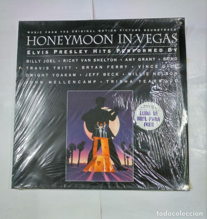 HONEYMOON IN LAS VEGAS. LP. B.S.O. ELVIS PRESLEY HITS. TDKDA27 (Música - Discos - LP Vinilo - Bandas Sonoras y Música de Actores )